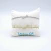 Bracciale Osso Cristal White