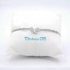 Bracciale Farfallina Cristal White