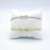 Bracciale Infinito Cristal White